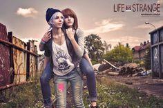 Life is Strange Max Chloe cosplay by LadyNilin