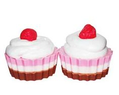 Neapolitan Cupcake Soap Recipe