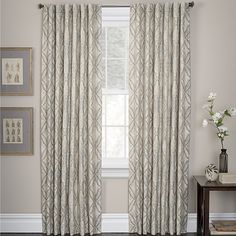 Marquis by Waterford® Doral Curtain Panel Pair - JCPenney Marquis, Panel Curtains, Family Room, Windows, Living Room, Bed, Furniture, Home Decor, Decoration Home
