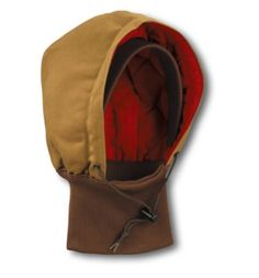 Carhartt - Product - Men's Duck Hood with Knit Collar/Quilted-Flannel Lined