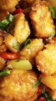 INGREDIENTS 3-4 boneless, skinless chicken breasts Salt and pepper to taste 1½ cup cornstarch 3 eggs, beaten ¼ cup canola oil S...