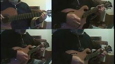 Canon in D (J.Pachelbel) mandolin guitar player nonnobru