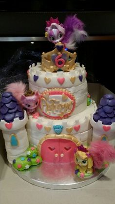 Disney Princess Palace Pets cake