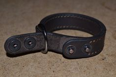 Leather Bracelet-men bracelet-handmade Dark Brawn от sergklim