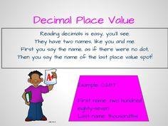 Decimal place value poem- going to print out and shrink for students to add to their math notebooks.
