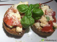 #bruschetta Bruschetta Recept, Baked Potato, Potatoes, Baking, Ethnic Recipes, Fitness, Potato, Bakken, Backen