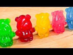 süße bunte Gummibärchen selber machen