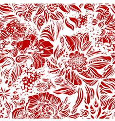Seamless background with swirls vector - by Sonulkaster on VectorStock®