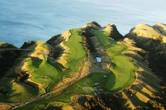 How spectacular is this golf course?