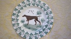 Emma Bridgewater plate - one of a pair