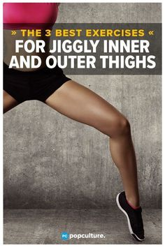 The 3 Best Exercises for Women To Tone Jiggly Inner And Outer Thighs Just in Time for Summer Shorts and Bathing Suits! These quick thigh exercises for women are easy to do and can be done at home for fast results. Try now for slimmer, thinner thighs! Fitness Motivation, Health And Fitness Tips, Health Tips, Fitness Men, Fitness Humor, Fitness Couples, Fitness Quotes, Yoga Fitness, Health Benefits