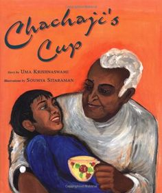 Chachaji's Cup by Uma Krishnaswami http://www.amazon.com/dp/0892391782/ref=cm_sw_r_pi_dp_R3p9vb0G3J694 A boy learns about his family history and the Partition of India and Pakistan from his great uncle, through refugee stories told over a beloved old teacup.