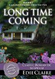 Long Time Coming - http://www.kindlebooktohome.com/long-time-coming-2/ Long Time Coming   4.5-STAR, ROMANTIC TIMES TOP PICK and Winner of the Road to Romance REVIEWER'S CHOICE Award!!!Originally published in 2003 by Warner Books (Warner Forever).Years and distance kept the memories at bay. But back at home, the past is ready and waiting to haunt her... Eighteen years have passed since Joy's childhood best friend, Jenny, met her death in a tragic car accident just a few da