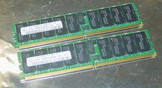 8GB 2X 4GB Samsung PC2 5300P DDR2 667 ECC Registered Memory RAM DIMM 240 Pin | eBay