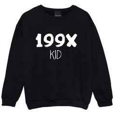 199X SWEATER (75 PEN) ❤ liked on Polyvore featuring tops, sweaters, night out tops, holiday party tops, black sweater, black party tops and party jumpers
