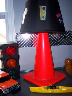 table lamps, cone lamp