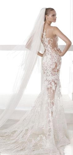 Designer: Pronovias SEE POST SEE GALLERY Find a Store