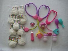 Baby Alive Accessories  LOT Baby Alive Doll Clothes, Baby Alive Dolls, Birthday Accessories, Doll Accessories, African American Baby Dolls, American Girl, Boy Doll, Girl Dolls, Toys For Girls