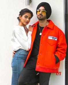 'Jind mahi' a special love ballad: Diljit - Social News XYZ All Indian Actress, Indian Actress Gallery, Indian Actresses, Fashion Line, Mens Fashion, Fashion Outfits, Punjabi Models, Punjabi Couple, Hd Images
