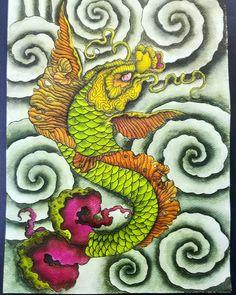 nils_onfire #koifish #koifishtattoo #japanesedesign #japanesetattoo #clouds #fullcolortattoo #tebori #japanesecollective Koi Fish Tattoo, Japanese Design, Color Tattoo, Clouds, Collection, Coy Tattoo, Japan Design, Color Tattoos, Tattoo Colors