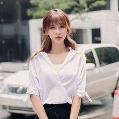 Japanese fashion sexy V-neck 7 points shirt - AddOneClothing - 1