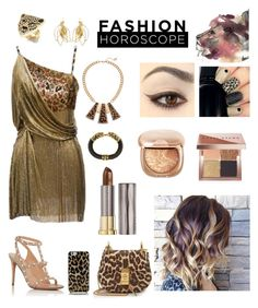 """Fashion Horoscope: Leo"" by tammy-gardner on Polyvore featuring Chloé, Versace, Valentino, GUESS, Aurélie Bidermann, Kenneth Jay Lane, Thalia Sodi, Kate Spade, Bobbi Brown Cosmetics and Urban Decay"