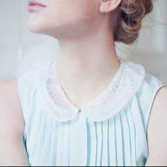 My Summer 2013 Wardrobe <3 Delicate Peter Pan Collars