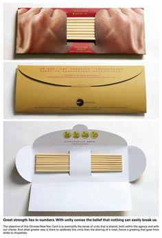 DDB International: Chinese New Year Direct Mail, Chopsticks