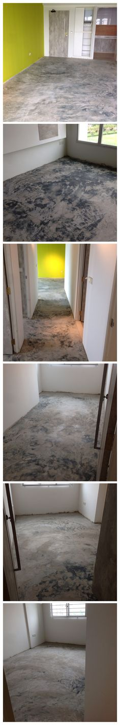 #screeding unpolished #concrete floor #HDB