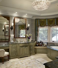 Bathroom Green Bathroom Cabinets Design, Pictures, Remodel, Decor and Ideas - page 10
