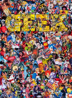 This… Is… POP CULTURE! A new exclusive print is coming to the Geek-Art Store. Garcin among the col artists … Sticker Bomb Wallpaper, Graffiti Wallpaper Iphone, Trippy Wallpaper, Cartoon Wallpaper, Cool Wallpaper, Wallpaper Backgrounds, Iphone Wallpaper, Wallpaper Bonitos, Dope Wallpapers