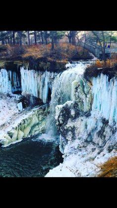 Minnehaha Falls - Minneapolis. Photograph by Kateri Cavanagh