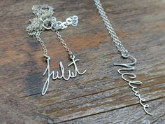 Item of the Day: Custom Signature Necklace