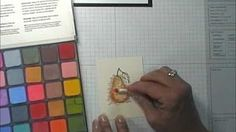 How to use Stampin' pastels - YouTube