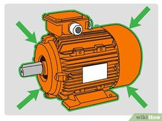 How to Check an Electric Motor. When a motor fails, it is often difficult to see why it failed just by looking at it. A motor placed in storage may or may not work, regardless of its physical appearance. A quick check-out can be done with. Basic Electrical Wiring, Electrical Projects, Electrical Outlets, Electrical Engineering, Electrical Troubleshooting, Diy Electronics, Electronics Projects, Ac Capacitor, Skull Art