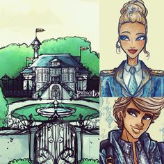 """This my dear friends is the castle or """"really really big house"""" of Queen Alice and #alistairwonderland :) you'll soon find more out about this monument and of course how Ali and his mother lived there when """"they were a familiy""""! Chapter 2 & 3 are coming soon (Wattpad.com Prince Ivy) @everafterhigh #everafterhigh #fanfiction#architecture #princeivy #art #illustration #digitalart #doodle#alice#aliceinwonderland #Wonderland #Wonderlandian#TopsyTurvyWonderland"""