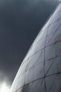 La Géode de la Cité des Sciences et de l'Industrie, via Flickr.