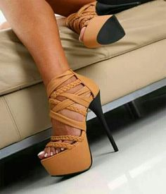 High heel stylish shoes 2015