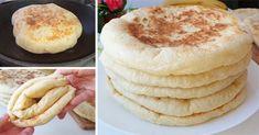 Turte pe bază de chefir, după o rețetă turcească – Se fac din 450g făină, 250 ml chefir, sare și puțin bicarbonta Ingrediente: 450 g făină 250 ml chefir 1 linguriță bicarbonat de sodiu sare Mod de preparare: 1. Cernem făina cu sare și bicarbonat de sodiu. 2. Frământăm aluatul moale. În funcție de consistența … Easy Cooking, Cooking Recipes, Starbucks Egg Bites, Egg Bites Recipe, Homemade Pasta, Kefir, Iftar, Vanilla Cake, Bread Recipes