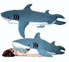ChumBuddy Shark Sleeping Bag. I want to buy this for my nephew Braydon. He would freak out!!