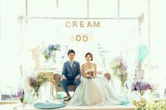 テーマウェディング事例:CREAM SODA crazy wedding (クレイジー・ウェディング)