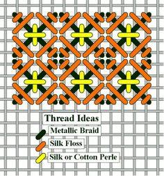 needlepoint compound stitch