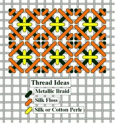 needlepoint compound stitch