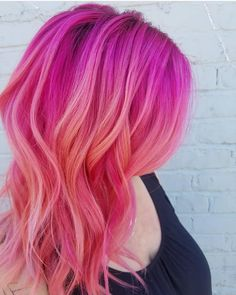 """8,627 Likes, 38 Comments - Pulp Riot Hair Color (@pulpriothair) on Instagram: """"@cozmic.color is the artist... Pulp Riot is the paint."""""""