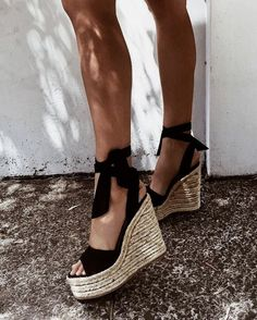 Summershoes | Espadrille with a wedge | Inspo | More on fashionchick.nl
