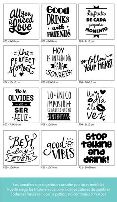 – USD in Mercado Libre Plotter Silhouette Cameo, Message Positif, Foto Transfer, Project Life, Word Art, Decoupage, Stencils, Diy And Crafts, Typography