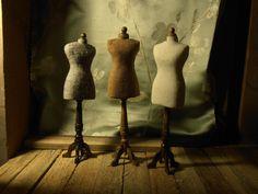mannequins/sovitusnukke 1:12 scale by Erja Helander