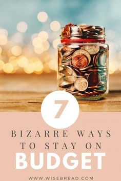 If the traditional ways of staying on budget aren't working, you may have to resort to more drastic measures. Here are a few tips that are so crazy, they just might work. Saving Tips, Saving Money, Money Savers, Living On A Budget, Frugal Living, Lost Money, Mad Money, Savings Planner, Finance Tips