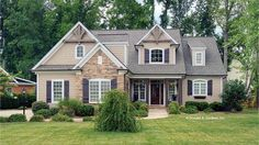 Home Plan HOMEPW07660 - 2193 Square Foot, 3 Bedroom 2 Bathroom + Cottage Home with 2 Garage Bays   Homeplans.com
