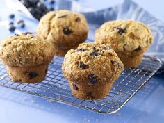 Blueberry and Ricotta Muffins That Stay Moist and Yummy